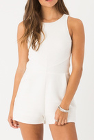 Others Follow Chic Cream Romper