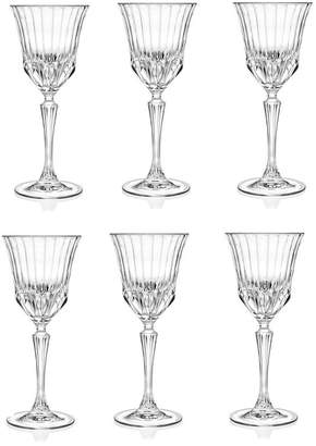 RCR Lorren Home Trends Adagio Crystal Water glass - Set of 6