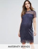 Mama Licious Mama.licious Mamalicious Lace Bodycon Dress