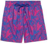 Vilebrequin Moorea Mid-length Printed Swim Shorts - Cobalt blue