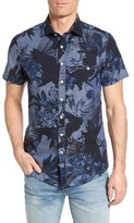 Rodd & Gunn Men's Kingsley Print Chambray Sport Shirt