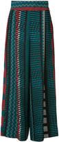 Issey Miyake printed palazzo pants