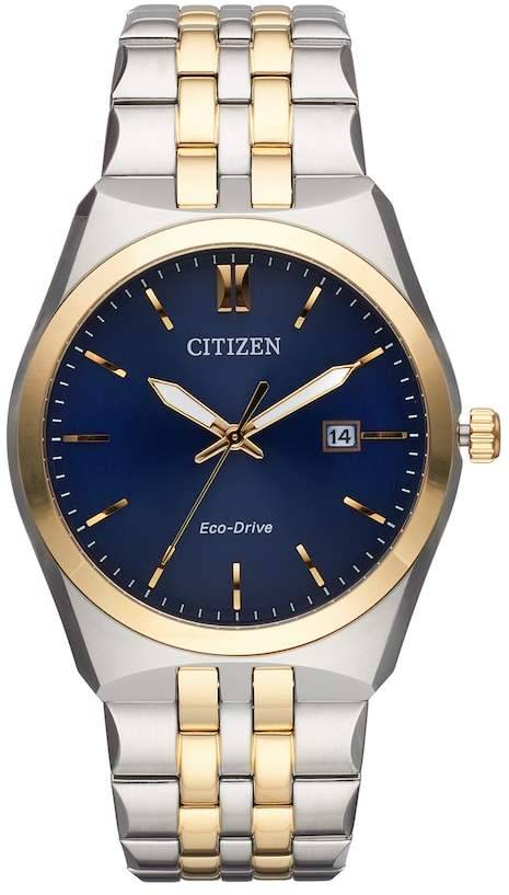 Citizen Eco-Drive Men's Corso Stainless Steel Watch