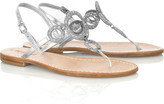 Musa Classic flat leather sandals