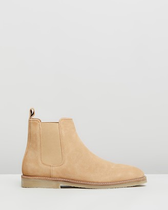 Staple Superior Malmo Suede Gusset Boots