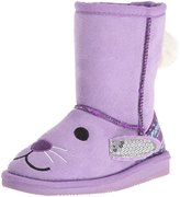 Muk Luks Kids' Animal Purple Bunny Pull-On Boot