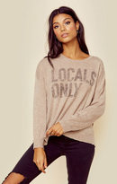 Sundry locals only cashmere crew neck
