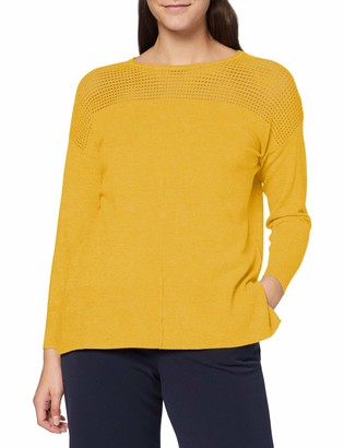 APART Fashion Women's Knitted Cut-Out Pullover Sweater