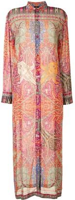 Etro Paisley Print Shirt Dress