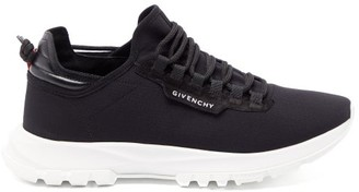 Givenchy Spectre Leather-trimmed Runner Trainers - Mens - Black