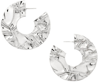 Marie June Jewelry Parched Silver Earrings