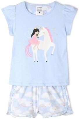 Milkshake Fairy Princess & The Unicorn Pyjama Set