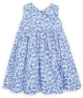 Rachel Riley Baby's & Toddler's Two-Piece Floral-Print Peter Pan-Collar Cotton Dress and Bloomers Set