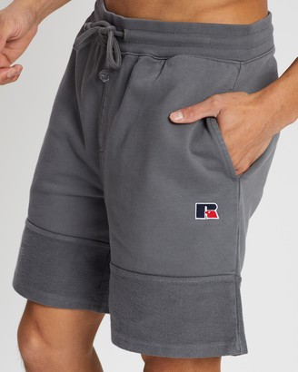 Russell Athletic RA Heavy Panelled Track Shorts