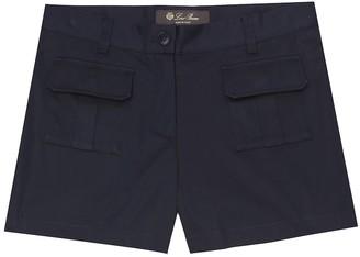 Loro Piana Kids Tanya stretch-cotton bermuda shorts