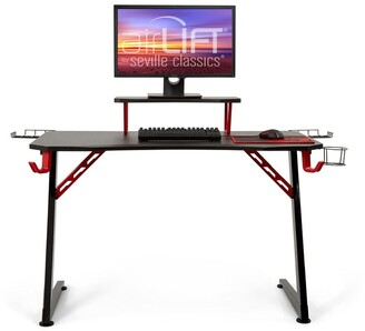"Seville Classics airLIFT 47.2"" Elite Gaming eSports Computer Desk"