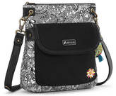 Sakroots Artist Circle Flap Crossbody Handbag