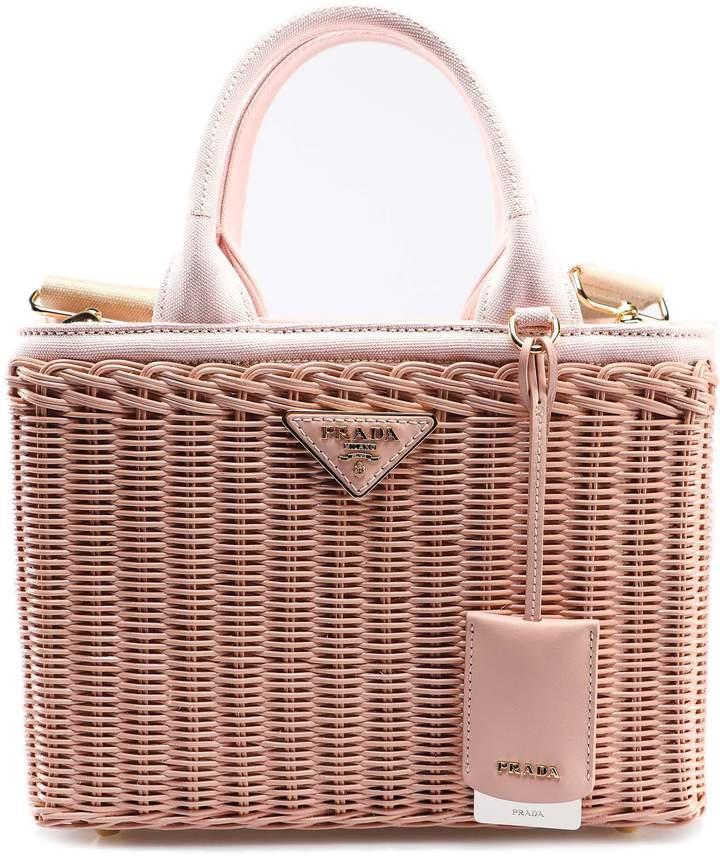 addcfb7b3cb6 Prada Straw Bag - ShopStyle