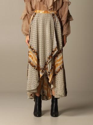 Mes Demoiselles Long Silk Skirt