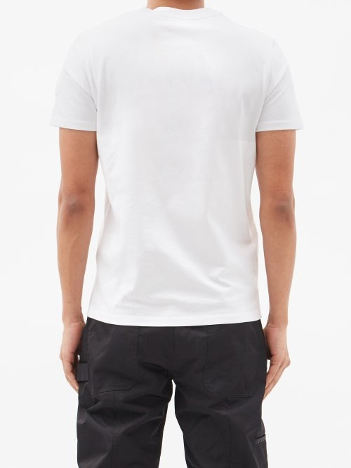 Thumbnail for your product : 2 MONCLER 1952 Logo-print Cotton-jersey T-shirt - White