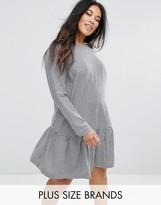 Junarose Gingham Smock Dress