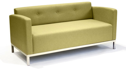 Lounge22 Basic Sofa Marseille Wasabi