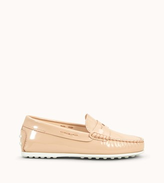 Tod's Junior City Gommino Loafers in Patent Leather