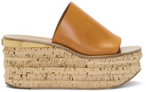 Chloé Brown Camille Sandals