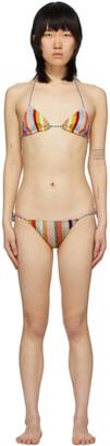 Missoni Multicolor Striped Bikini