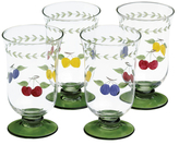 Villeroy & Boch French Garden Accessories Iced Tea Glasses (Set of 4)
