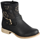 Black Studded Luciana Boot