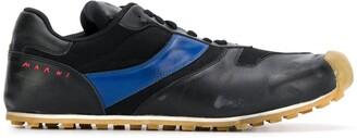 Marni Asymmetric Low-Top Sneakers