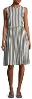 The Great The Prairie Striped Sleeveless Cotton Dress