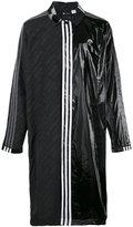 Adidas Originals By Alexander Wang - contrasting panel logo coat - unisex - Polyester - S