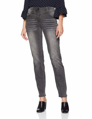 Cecil Women's B371689 Straight Jeans