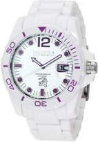 Haurex Italy Men's Caimano Date Dial Plastic Sport Watch W7354UWP