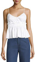 KENDALL + KYLIE Cotton Peplum Camisole