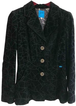 Christian Lacroix Black Velvet Jackets