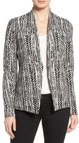 Nic+Zoe 'On the Line' Knit Jacket (Regular & Petite)