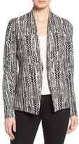Nic+Zoe Petite Women's 'On The Line' Knit Jacket