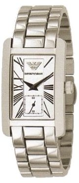 Emporio Armani Quartz, Mother of Pearl Dial with Stainless Steel Bracelet - Womens Watch AR0146