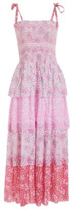 LoveShackFancy Caressa Tiered Dress