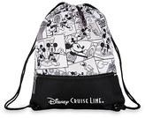 Disney Mickey Mouse Comic Strip Cinch Sack Cruise Line