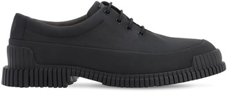 Camper Matte Leather Lace-Up Shoes