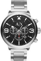 Armani Exchange Silvertone Stainless Steel Watch, AX1369