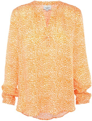 Primrose Park London Sandy Open Shirt In Leo