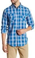 Burnside Sleeper Regular Fit Plaid Shirt