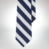 Polo Ralph Lauren Broad-Striped English Repp Tie