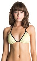Roxy Women's Polynesia Tri Bikini Top