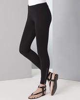 Black Zipper Leggings